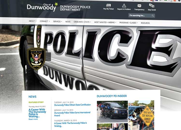 The City of Dunwoody