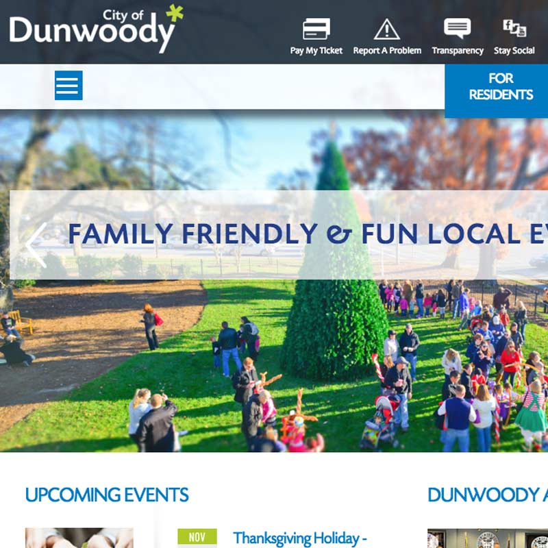 City of Dunwoody Website