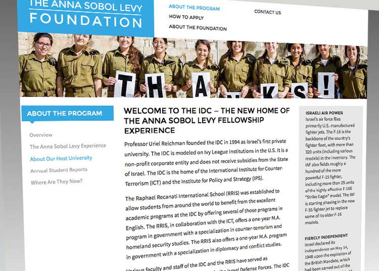 The Anna Sobel Levy Foundation